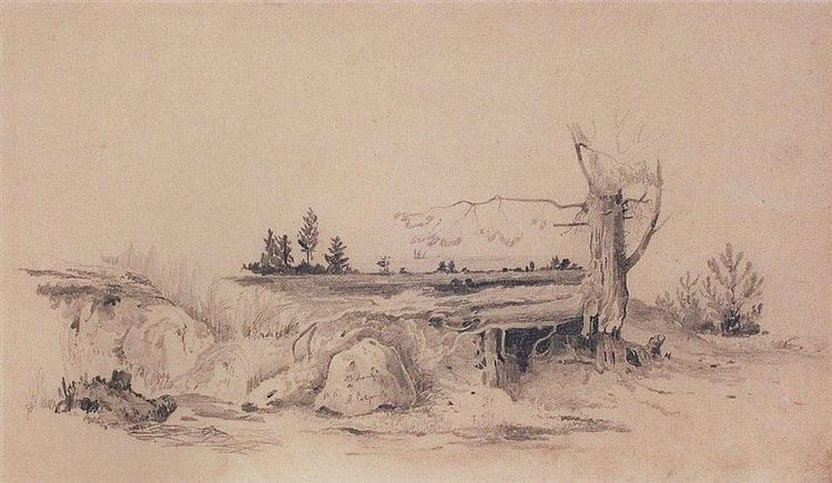Gulf of Finland, 1854 - Aleksey Savrasov