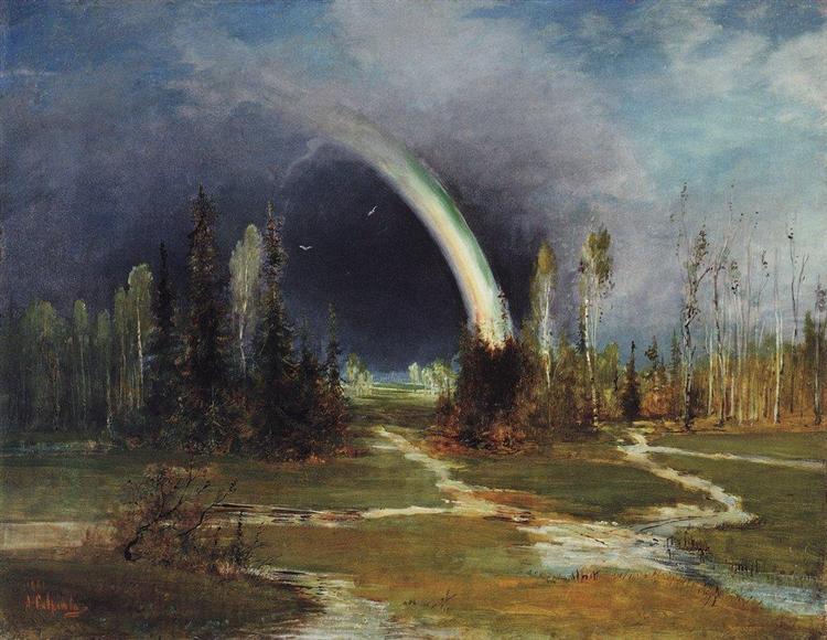 Landscape with a Rainbow, 1881 - Alexei Kondratjewitsch Sawrassow