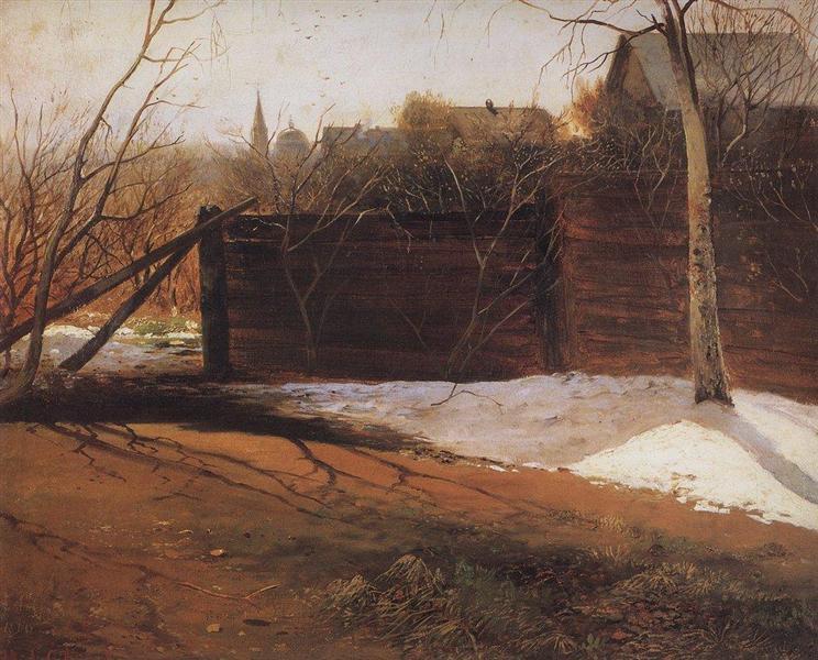 Spring, 1874 - Alexei Kondratjewitsch Sawrassow