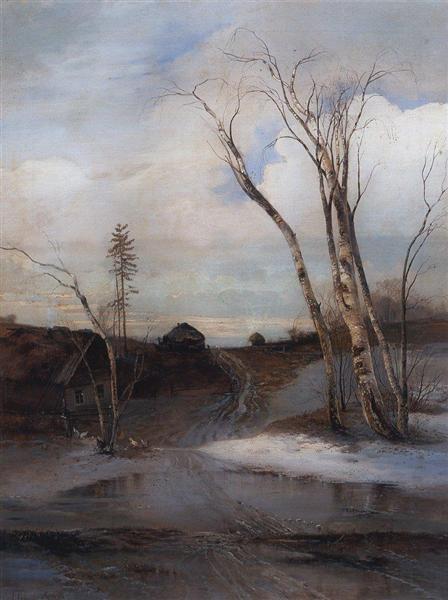Spring, c.1870 - 1880 - Alexei Kondratjewitsch Sawrassow