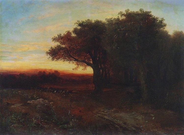 Sunset, 1862 - Aleksey Savrasov