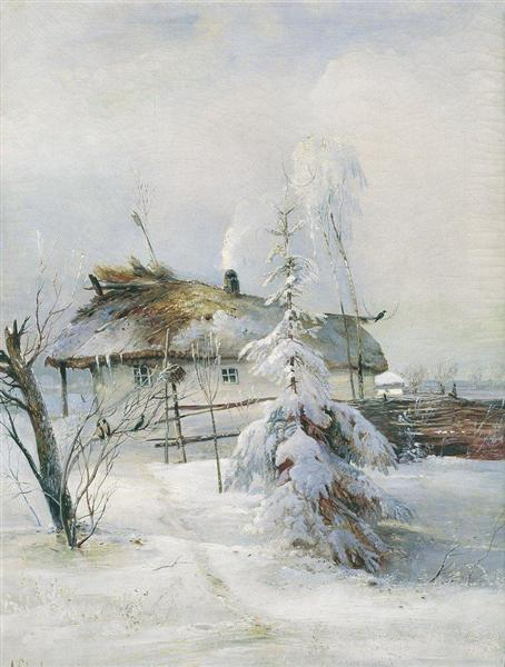Winter, 1873 - Aleksey Savrasov