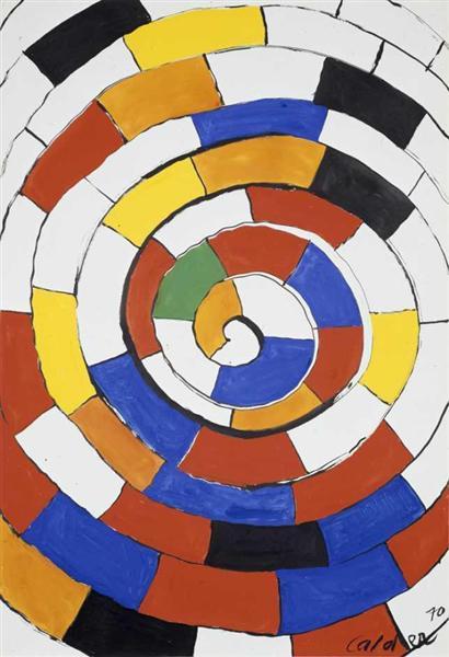 Spiral, 1970 - Alexander Calder