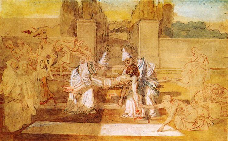 Entombment of Christ, c.1855 - Alexander Ivanov