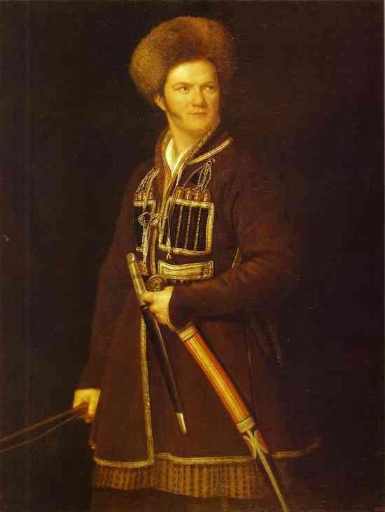 Self-portrait in a Suit of a Caucasian Warrior