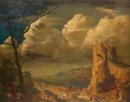 Mythological Landscape, 1928 - Олександр Яковлєв