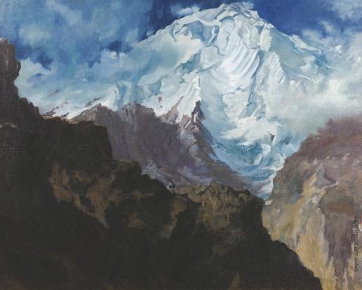 Rakaposhi Mountain - Alexandre Jacovleff
