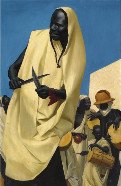 La danza Kuli-Kuta, Niamey - Jacovleff Alexandre