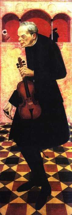 Violinist, 1915