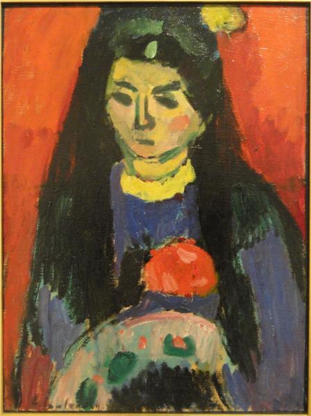 Red Blossom, 1910 - Alexej von Jawlensky