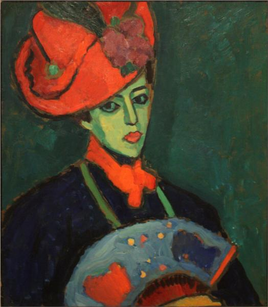 Schokko with Red Hat - Alexej von Jawlensky