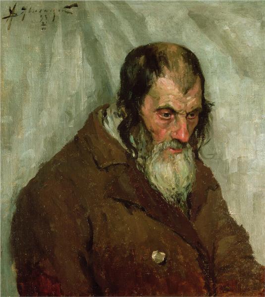 The old Jew, 1893 - Alexej von Jawlensky