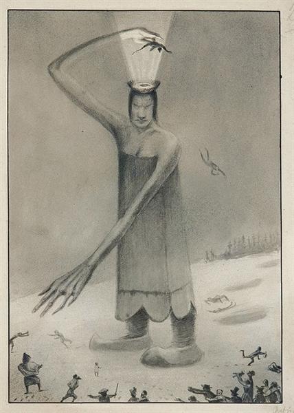 Siberian Fairy Tale, 1902 - Alfred Kubin