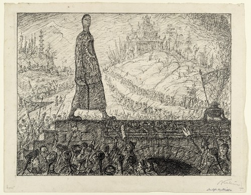 The Emperor of China, 1910 - Alfred Kubin