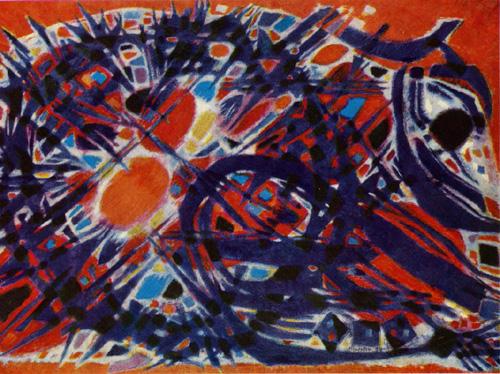 Couronne d'épines, 1954 - Alfred Manessier