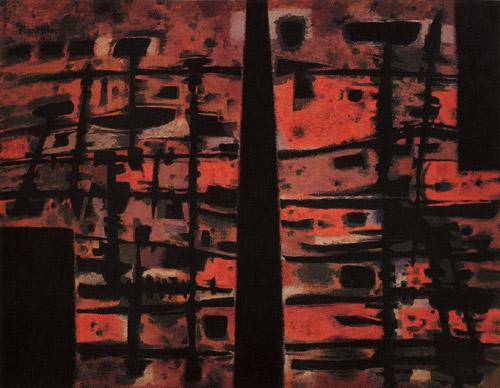 La Sixième Heure, 1958 - Alfred Manessier