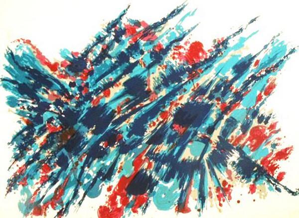 Le Sang et l'eau, 1978 - Альфред Манесье