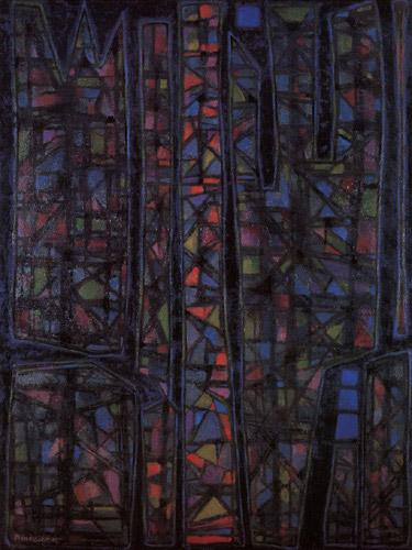 Recueillement nocturne II, 1952 - Alfred Manessier