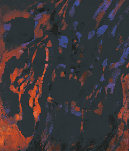 Tumulte, 1961 - Alfred Manessier