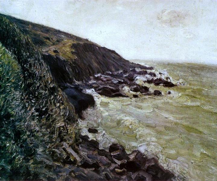 High wind, 1897 - Alfred Sisley