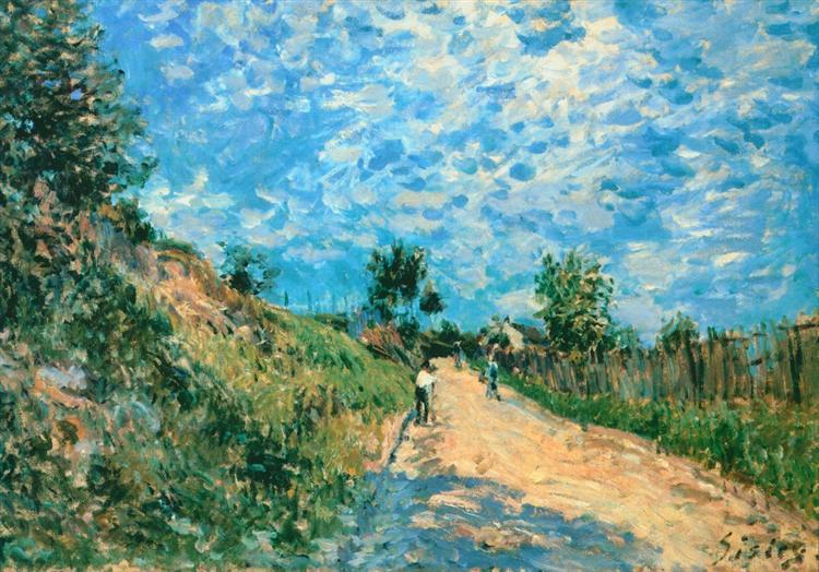 Hill Path, 1876 - Alfred Sisley