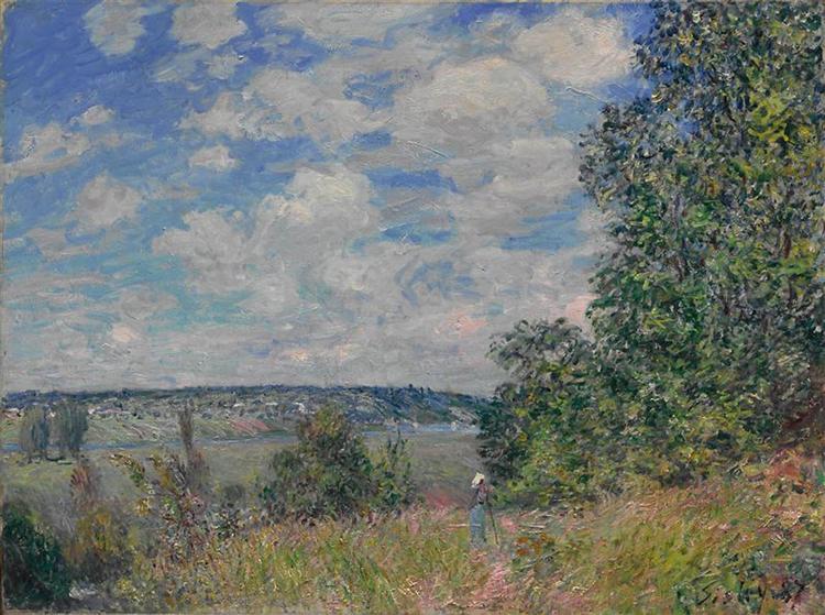 Landscape, 1886 - Alfred Sisley