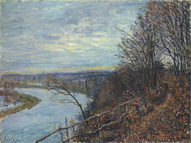 November Afternoon, 1881 - Alfred Sisley