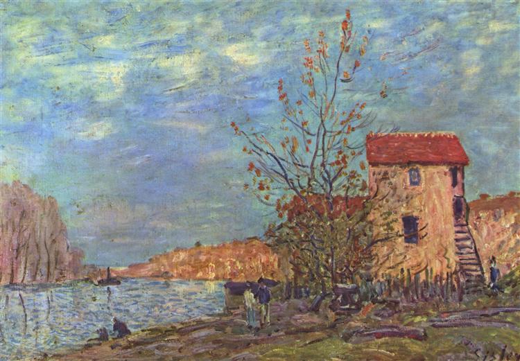 TheLoingatMoret, 1881 - Alfred Sisley