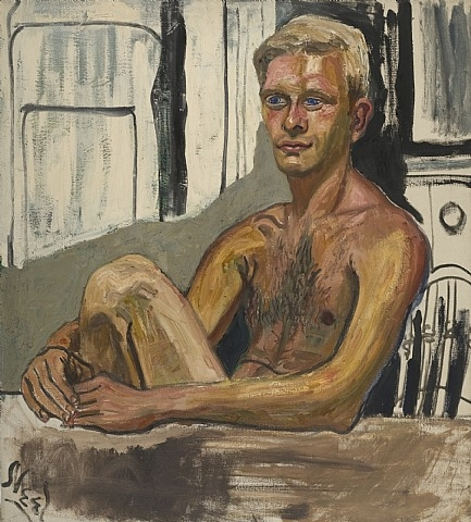 Richard Gibbs, 1954 - Alice Neel