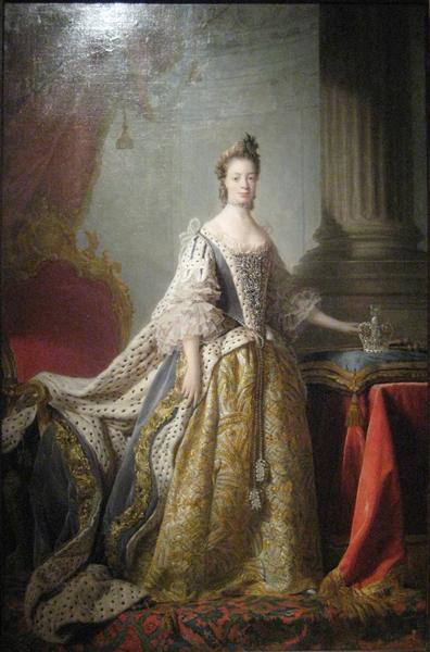 Queen Charlotte - Allan Ramsay