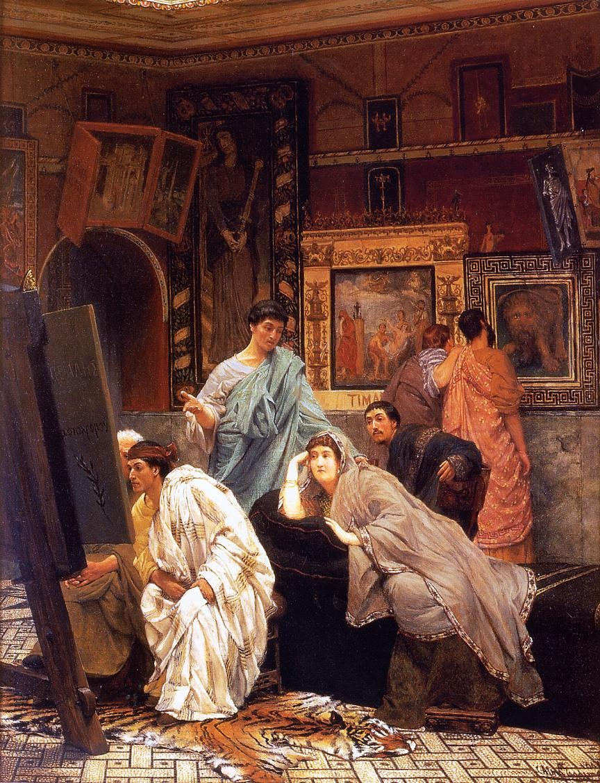 http://uploads8.wikipaintings.org/images/alma-tadema-lawrence/a-collection-of-pictures-at-the-time-of-augustus-1867.jpg