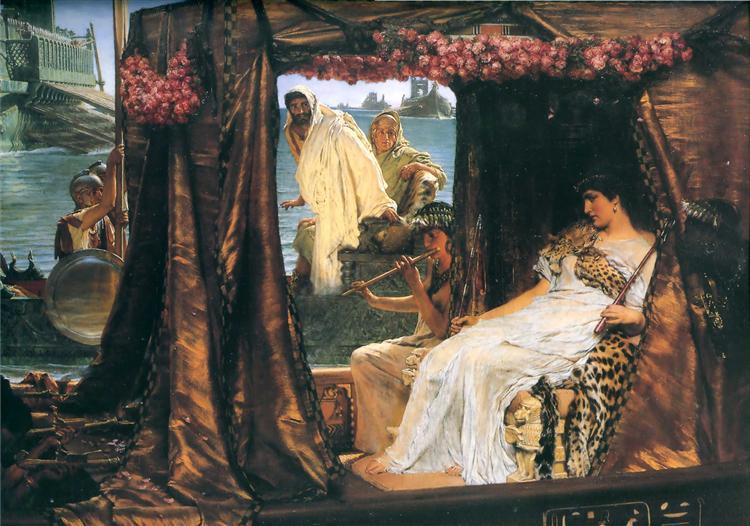 Antony and Cleopatra, 1883 - Sir Lawrence Alma-Tadema