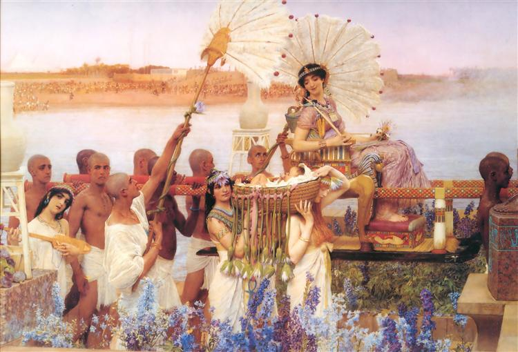 The Finding of Moses, 1904 - Sir Lawrence Alma-Tadema