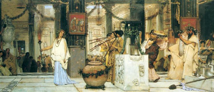 The Vintage Festival, 1870 - Sir Lawrence Alma-Tadema