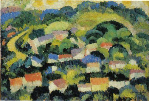 Landscape, 1910 - Amadeo de Souza-Cardoso