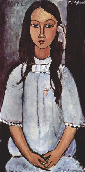 Alice, 1915 - Amedeo Modigliani