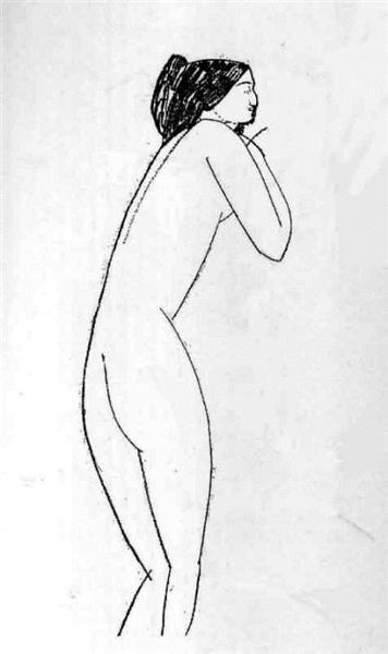 Anna Akhmatova, 1911 - Amedeo Modigliani