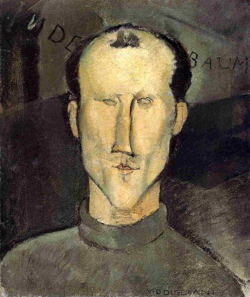 Leon Indenbaum, 1915 - Amedeo Modigliani