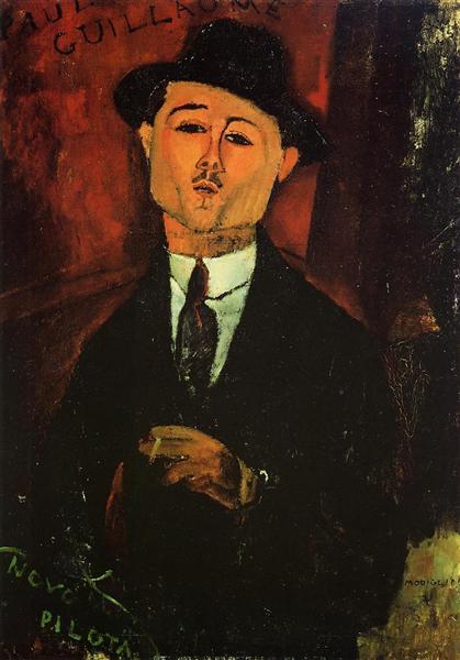 Paul Guillaume, 1915 - Amedeo Modigliani