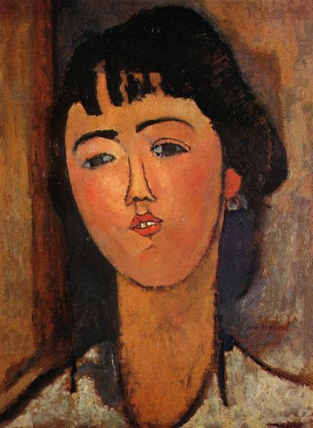 Portrait of a Woman, c.1915 - Amedeo Modigliani