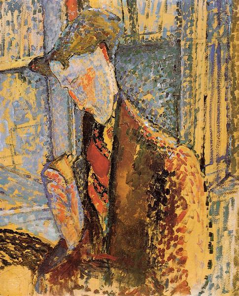 Portrait of Frank Burty Haviland, 1914 - Amedeo Modigliani