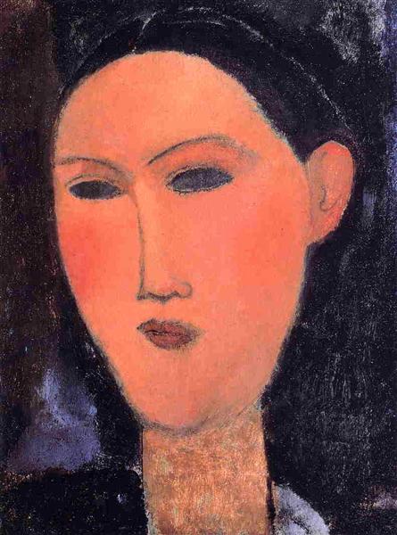Woman's Head, 1915 - Amedeo Modigliani