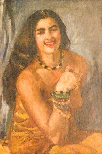 Self-Portrait - Amrita Sher-Gil