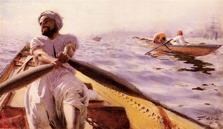 Kaikroddare, 1886 - Anders Zorn