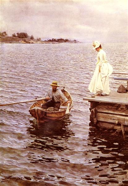 Summer Entertainment, 1886 - Anders Zorn