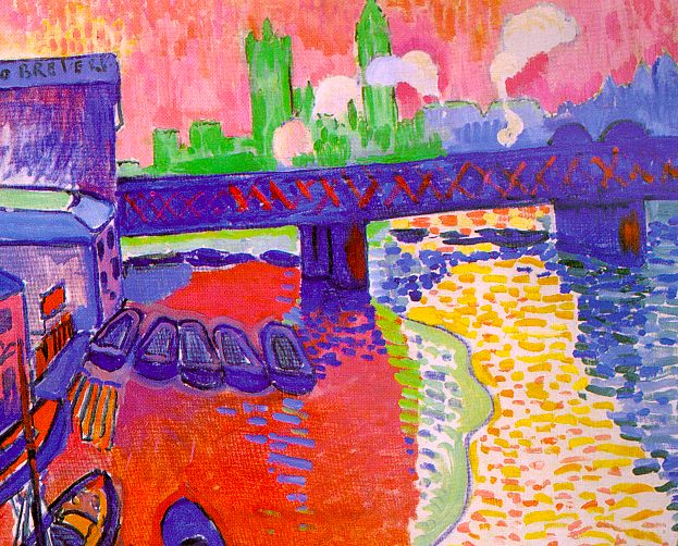 Charing Cross Bridge, 1906 - Andre Derain