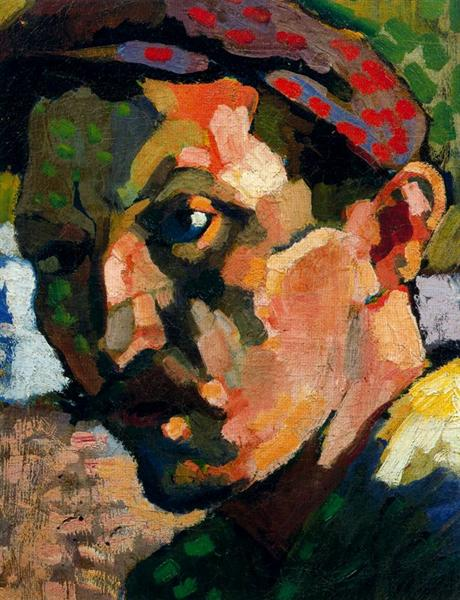 Self Portrait with a Cap, c.1905 - Andre Derain