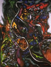 Lamento, 1963 - André Masson
