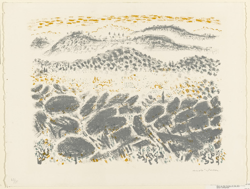 Mist in the Valley of the Arc, 1956 - Andre Masson