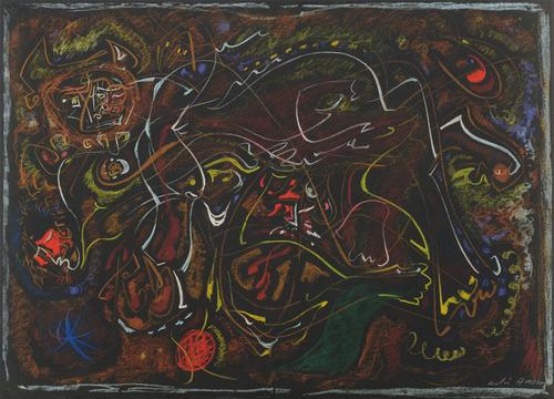 Pasiphaë, 1945 - Андре Массон